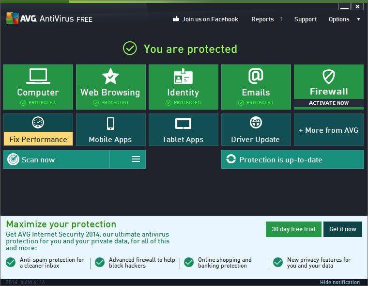 Phần mềm diệt virus miễn phí