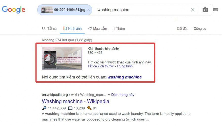 Tìm kiếm với URL